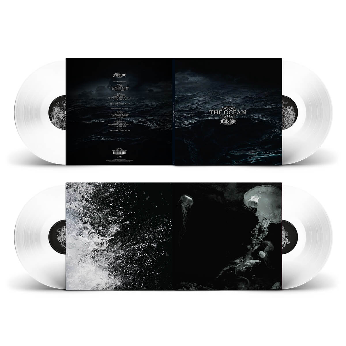 The Ocean - Fluxion LP - White
